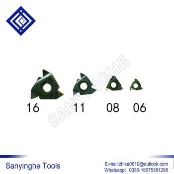 free shipping high quality 10pcs/lots sanyinghe 06NR A60 M30/08NR A60 M30 cnc carbide threading inserts