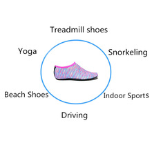 лучшая цена Hot 1 Pair Barefoot Aqua Skin Shoes Water Socks for Surfing Beach Swim Yoga Exercise MCK99