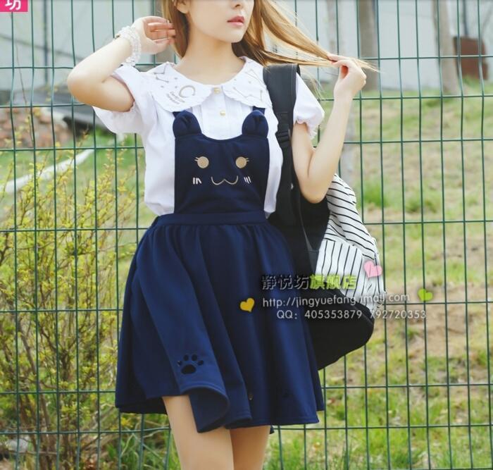 Модные японские платья