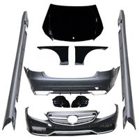 W212 E63 Styling PP Auto Bumper Body Kits For Benz Standard W212 2014