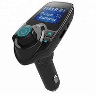 Car MP3 Player Wireless Bluetooth Hands Free Car USB Charger Kits AJT01 Dual USB FM Transmitter Bluetooth Wireless Car Charger
