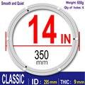 Классические СС 14 дюймов 35 см алюминиевые ленивые Susan поворотные пластины круглые поворотные подшипники мебельная фурнитура