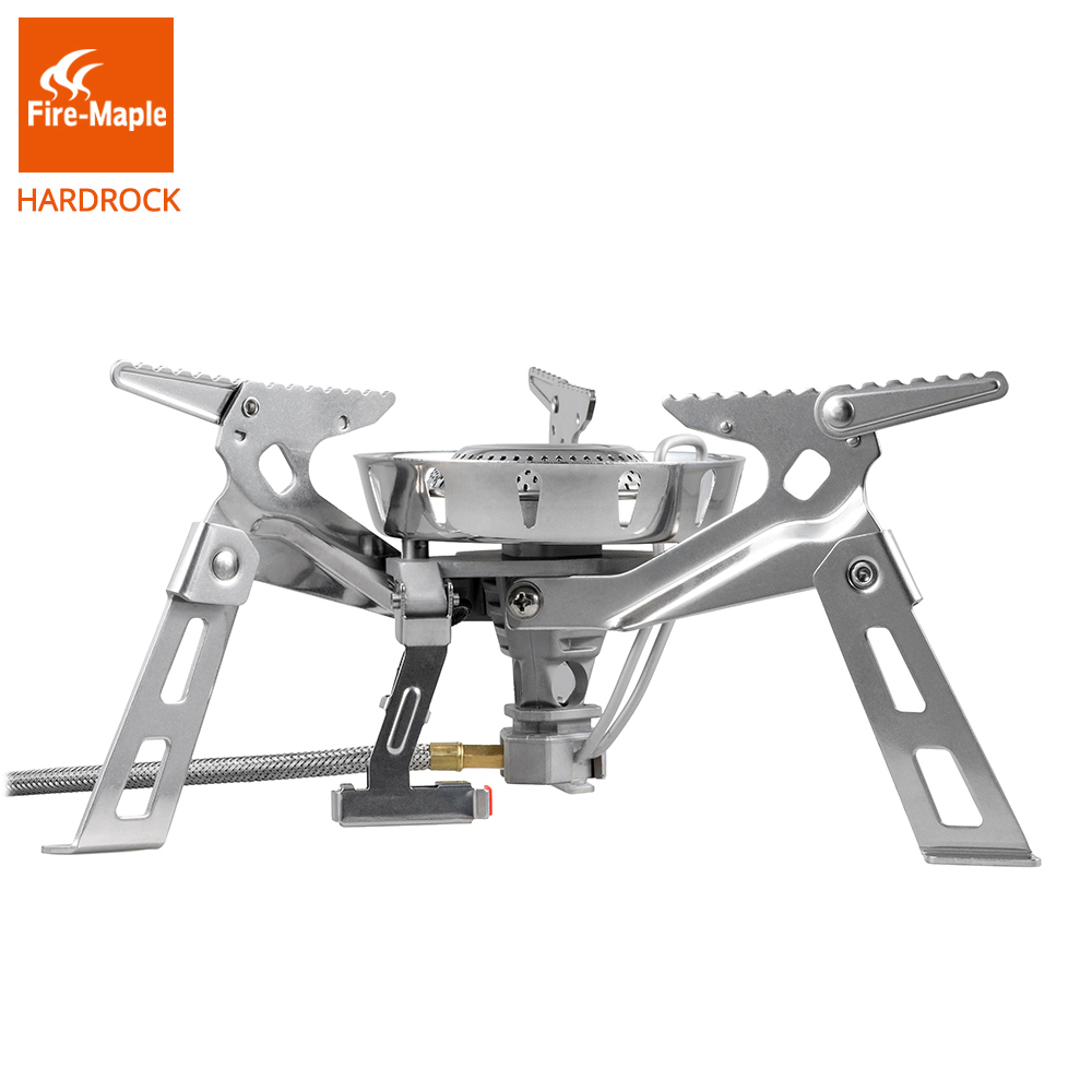 Fire Maple HardRock Outdoor Camping Camping Hiking Windproof Big Burner Gas Stove Cooking Stove Stove Equipment 3600W FMS-123 leg extension split machine