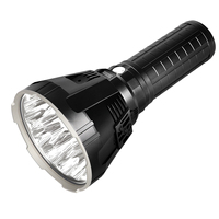 IMALENT MS18 LED flashlight CREE XHP70 100000 LM waterproof Flash light with 21700 battery + OLED screen Smart Charge