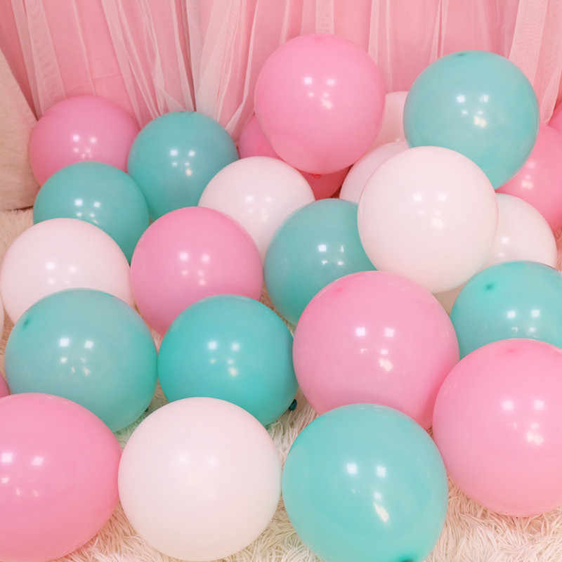 5pcs 12inch 5inch Ballons Decoration Birthday Wedding Party Gold Balloons Baby Shower Helium Foil Balloon Pink Birthday Balloons