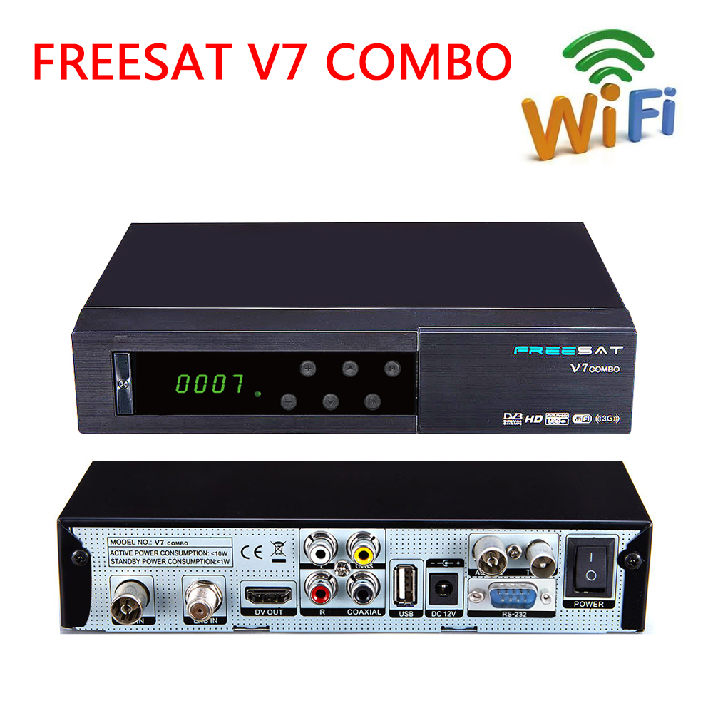 2017 Smart TV Box Freesat V7 COMBO DVB S2 DVB T2 digital