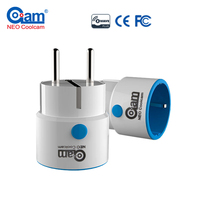 Z Wave Wireless EU Smart Power Plug Socket Compatible With Z Wave 300 And 500 Series
