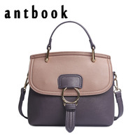 ANTBOOK Women Bags Handbags Women Famous Brands Patchwork Shoulder Bags Vintage Women Messenger Crossbody Bags Bolsa