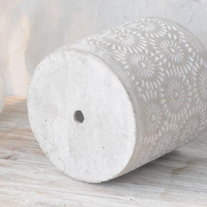 크리 에이 티브 콘크리트 화분 실리카 젤 금형 시멘트 정원 화분 금형-에서점토 몰드부터 홈 & 가든 의  그룹 3