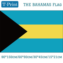 Free shipping 90*150cm/60*90cm/30*45cm/15*21cm The Bahamas National Flag For World Cup the bahamas