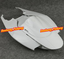 Unpainted Motor Tail Rear Fairing Cover Parts for Suzuki 2006 2007 GSXR 600 750 06 07 K6, ABS Plastic motorcycle abs unpainted front upper fairing cowl nose for suzuki gsxr 600 750 2006 2007 k6