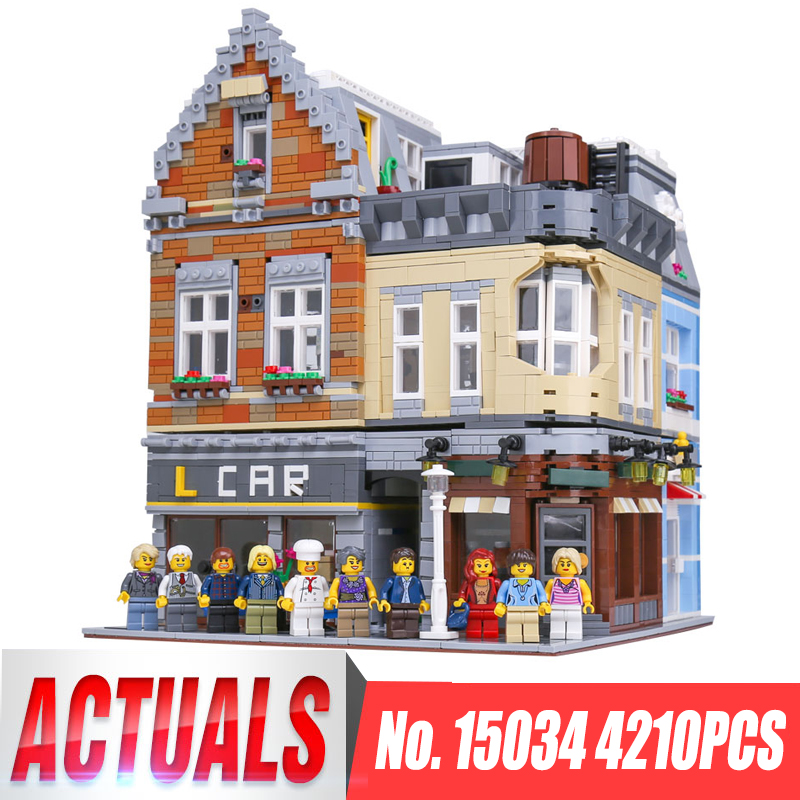 Lepin 15034 4210Pcs MOC Series New Building City Set legoing Building Blocks Bricks Educational Funny Toys Model Children Gifts sermoido 02012 774pcs city series deep sea exploration vessel children educational building blocks bricks toys model gift 60095