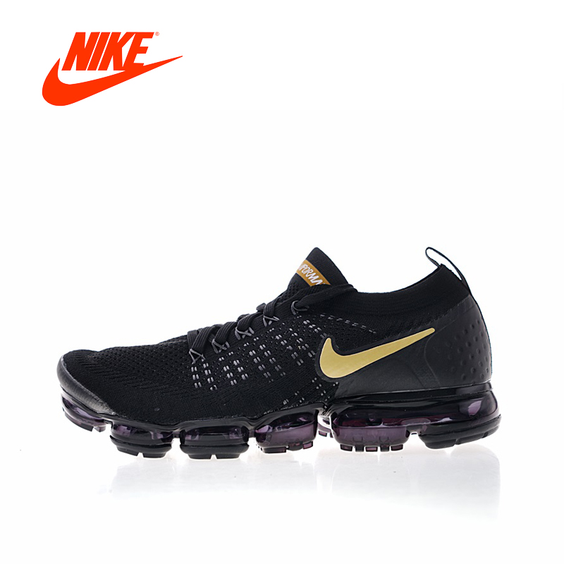 Original New Arrival Authentic Nike Air Vapormax Flyknit 2 Mens Running Shoes Sneakers Sport Outdoor Good Quality 942842 цена