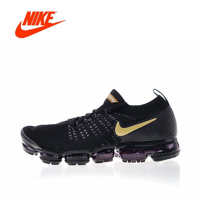 Original Nouvelle Arrivée Authentique Nike Air Vapormax Flyknit 2 Hommes Chaussures De Course Baskets Sport En Plein Air De Bonne Qualité 942842