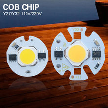 LED Cob Beans AC110V 220V LED Bulb Lamp With Smart IC Driver Bulbs Light Real 3W 5W 7W 9W Chip Spotlight DIY Outdoor Flood Light