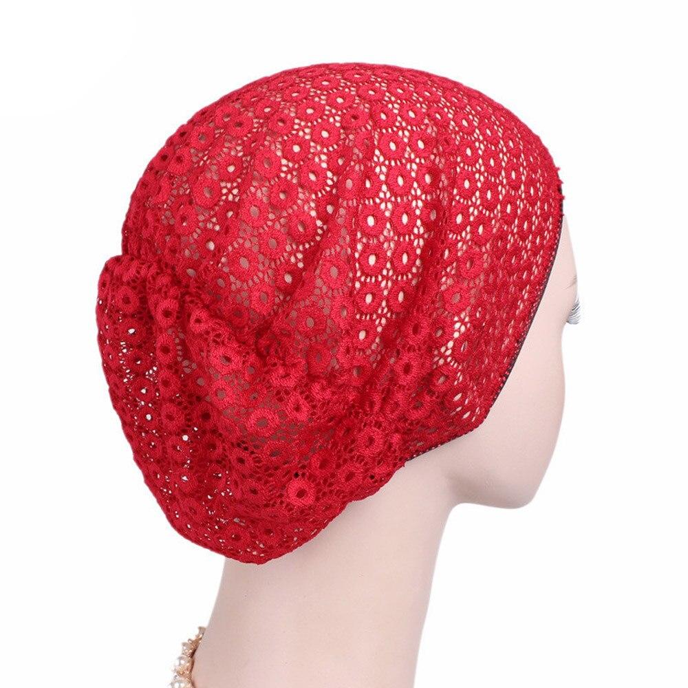 2017 Women Cancer Chemo Hat Beanie Scarf Turban Head Wrap Cap ... 9ba576d2c3a