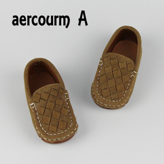 Aercourm A 2017 Children Boat Shoes Boys Girls Classic Kids Moccasins Shoes Boys Genuine Leather Loafers Casual Shoes Sneakers