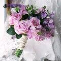 Departamento Forestal ramo Artificial ramo de novia ramo flor bruidsboeket mariage nupcial de La Boda de dama de Honor ramo de Flores