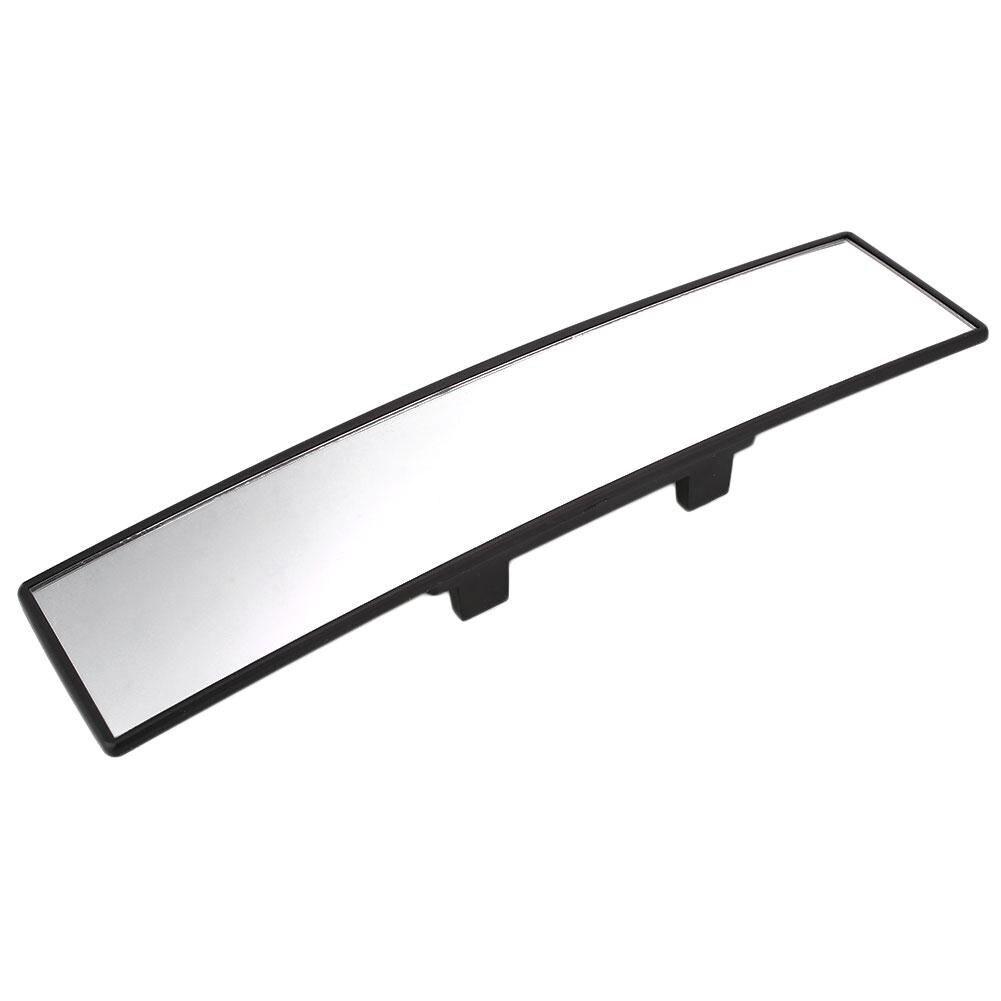 Vehemo 300mm Curve Convex Auto Car Interior Clip On Panoramic Rear View Mirror