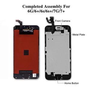 Image 5 - Numériseur daffichage LCD noir/blanc pour iPhone 6s AAA écran tactile LCD de qualité pour iPhone 6 7 5s 6splus pas de Pixel mort