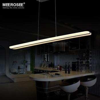 Modern LED Chandelier Lighting Fitting Rectangle Acrylic LED Lamp For Dining Restaurant lamparas Home Decoration Lighting