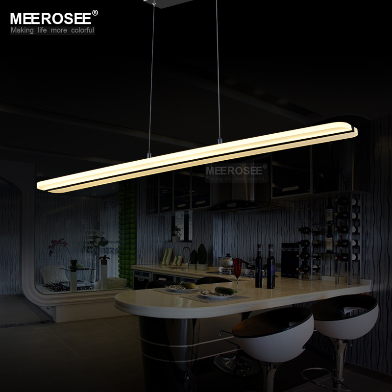Modern LED Chandelier Lighting Fitting Rectangle Acrylic LED Lamp For Dining Restaurant lamparas Home Decoration Lighting