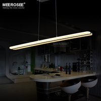 Modern LED Chandelier Light Fitting Rectangle Acrylic LED Lamp For Dining Restaurant Lamparas Home Decoration Lighting