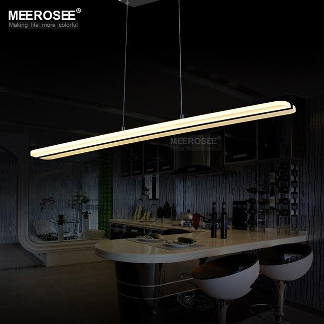 Moderne LED Kronleuchter Leuchte Rechteck Acryl LED Für Esszimmer  Restaurant Lamparas Dekoration Beleuchtung