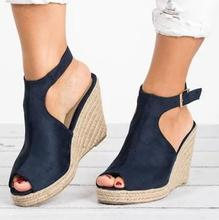 Women Wedge High Heels Sandals