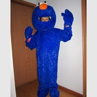 Blue Elmo Halloween Cartoon Character Costume Cosplay Mascot Custom Products Custom Made S M L Xl