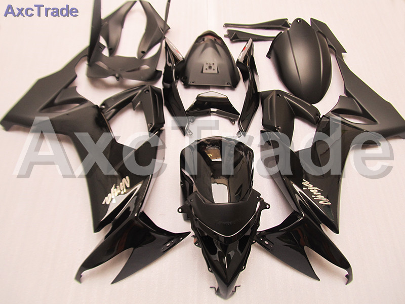 Motorcycle Fairing Kit For Kawasaki Ninja ZX10R ZX-10R 2008 2009 2010 08 09 10 Fairings kit High Quality ABS Plastic Injection black moto fairing kit for kawasaki ninja zx14r zx 14r zz r1400 zzr1400 2006 2007 2008 2009 2010 2011 fairings custom made c549