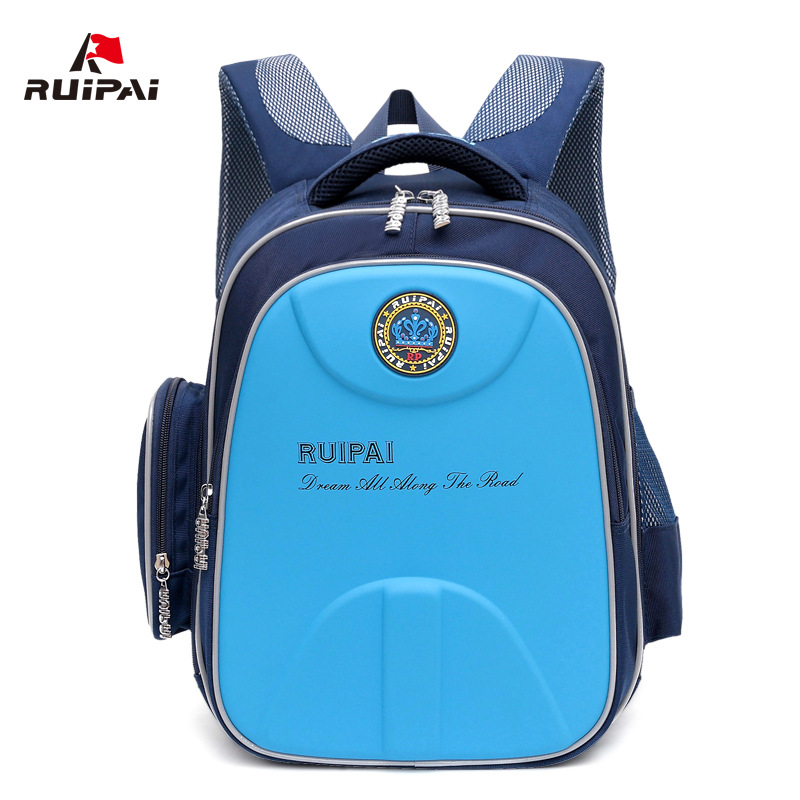 RUIPAI Orthopedic School Backpack Schoolbag For Children Girls Boys School Bags Shell Waterproof Schoolbags Students Rucksack children school bag minecraft cartoon backpack pupils printing school bags hot game backpacks for boys and girls mochila escolar