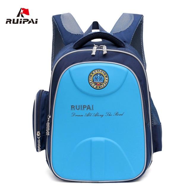 534cec11bf RUIPAI Orthopedic School Backpack Schoolbag For Children Girls Boys School  Bags Shell Waterproof Schoolbags Students Rucksack