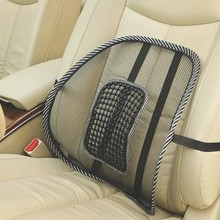 Mesh Lumbar Back Brace Support Office Home Car Seat Chair Cu