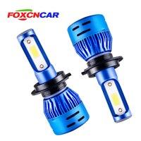 2pcs 8000Lm H11 H8 LED Car Light LED Bulb H7 9005 HB3 9006 HB4 Daytime Running Lights DRL Fog Light 6500K 4300K 12V Driving Lamp