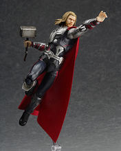 [Funny] Mutável Filme da Marvel the Avengers Thor martelo Thor Figma PVC Action Figure Collectible Modelo Toy boneca criança caçoa o presente(China)