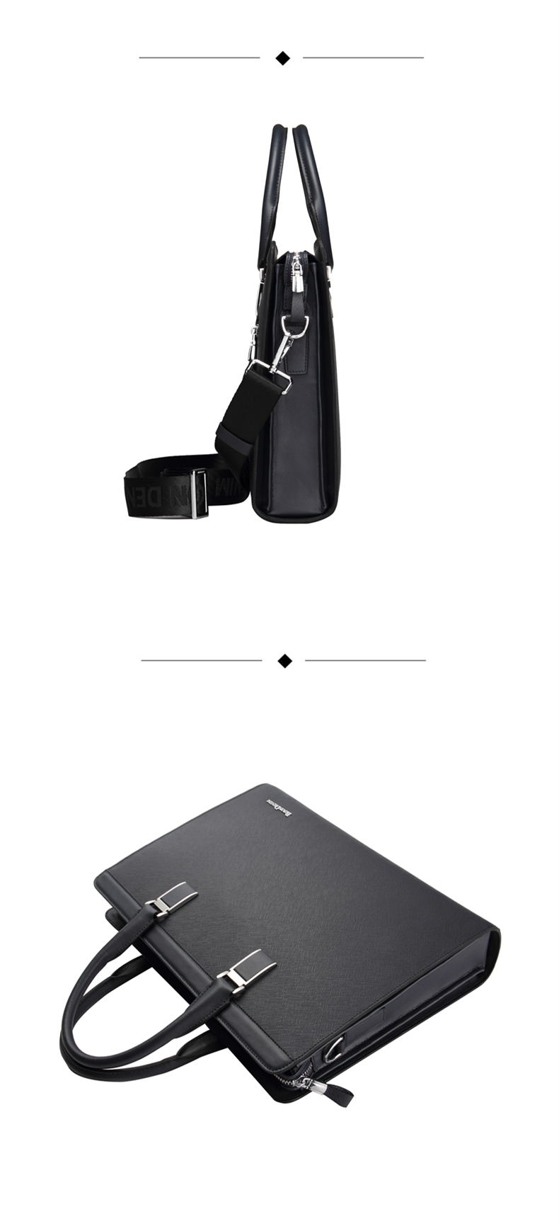 HTB1vqDfa79E3KVjSZFGq6A19XXak BISON DENIM Genuine Leather Handbag Men Business Messenger Bag 14'' Laptop Tablet leather Shoulder Bag Crossbody Male bags N2317