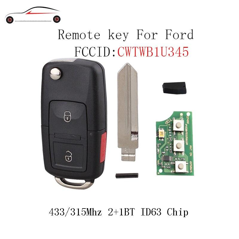 все цены на GORBIN 2+1 Buttons New Style Remote Key DIY For Ford 2001 2002 2003 2004 2005 2006 2007 Explorer Edge Escape 4D63 40/80Bit Chip