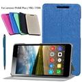 De alta calidad de LA PU Funda de Cuero Estela Del Sueño Cubierta Elegante Para lenovo phab plus pb1-770n pb1-770m 6.8 tablet pc + teléfono stylus