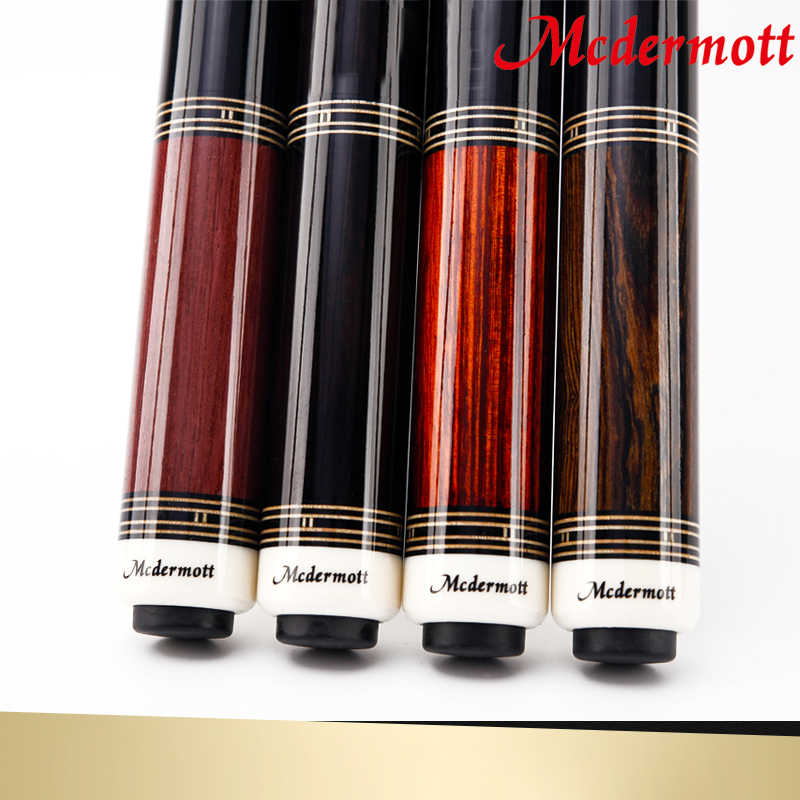 2018 Mcdermott Pool Cue with Case 1/2 Pool Game Cue Stick Kit 11.5mm 12.5mm Tip Pool Cue Stick Billiard Cue