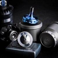 Original EDC aleación de titanio Gyro Casual portátil juguete pequeño Gyro|Palancas|Herramientas -