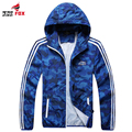 New spring autumn Fashion Jacket Men's Hooded Casual Jackets Male Jacket Coat Thin Men Coat Outwear sporting quickly dry clothes