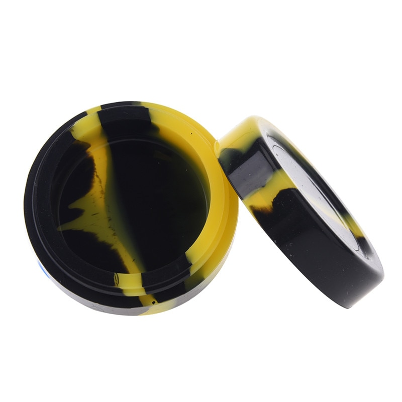 BIG SALE] New Round Non stick Silicone Container For Wax Bho