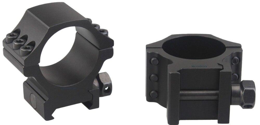 30mm X-Accu Picatinny Rings Low Acom 7
