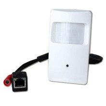720P Pir Motion Detector mini Camera ONVIF Pir Style Ip Camera Covert PIR IP Camera for 1.0 megapixel Support P2P Mobile Remote