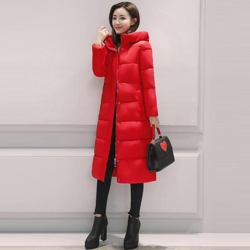 Winter-Baumwollkleidung 2019 neue Frauen Größe einfarbig Verdickung - Damenbekleidung - Foto 5