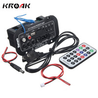 30W Amplifier Board Audio Bluetooth Amplificador USB Dac FM Radio TF Player Subwoofer DIY Amplifiers For