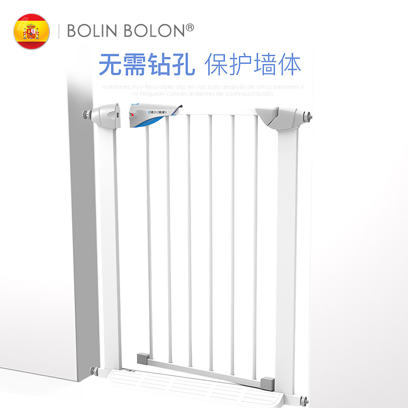 Babyfond Child Safety Door Hurdle Baby Staircase Guard Fence Bar Fence Door 65cm safety 10 pcs cabinet drawer cupboard refrigerator toilet door closet plastic lock baby safety lockcare child safety atrq0140