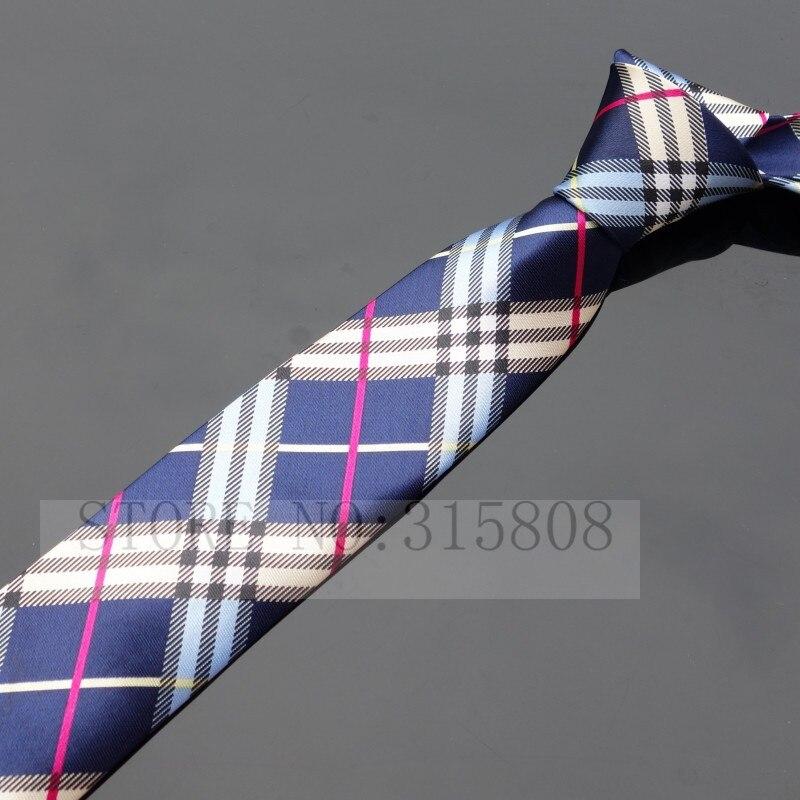 Ikepeibao печатных тонкий узкий шеи галстуки для мужчин полосатый тощий галстук аксессуары - Цвет: P006 As pic show