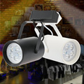 AC85-265V 18W LED COB Track Rail Light black/white Track Spot lighting Adjustable for Mall illumination light warm white/white